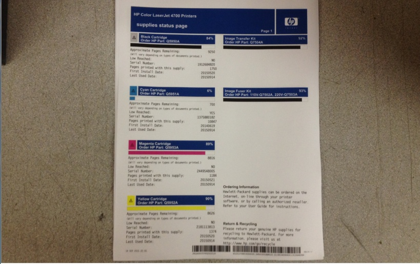 hp color laserjet 4700dn manual