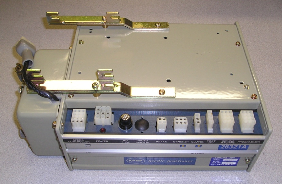 Kpnp Kenner Prime 26321a Needle Positioner Control Box
