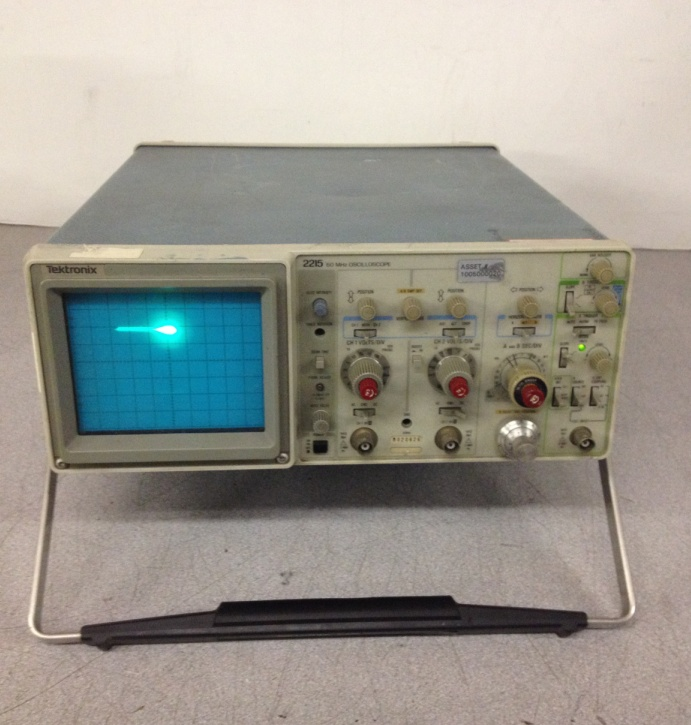 Tektronix Analog Oscilloscope : Tektronix analog oscilloscope mhz no probes ebay