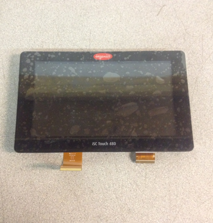 Ingenico 296145907 ISC480 Touch Screen Assembly