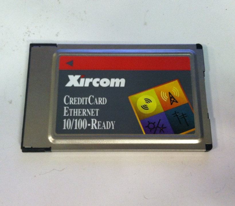 Details about Xircom Credit Card Ethernet 10/100 PCMCIA Laptop Network Card  CE3B-100 No Cable