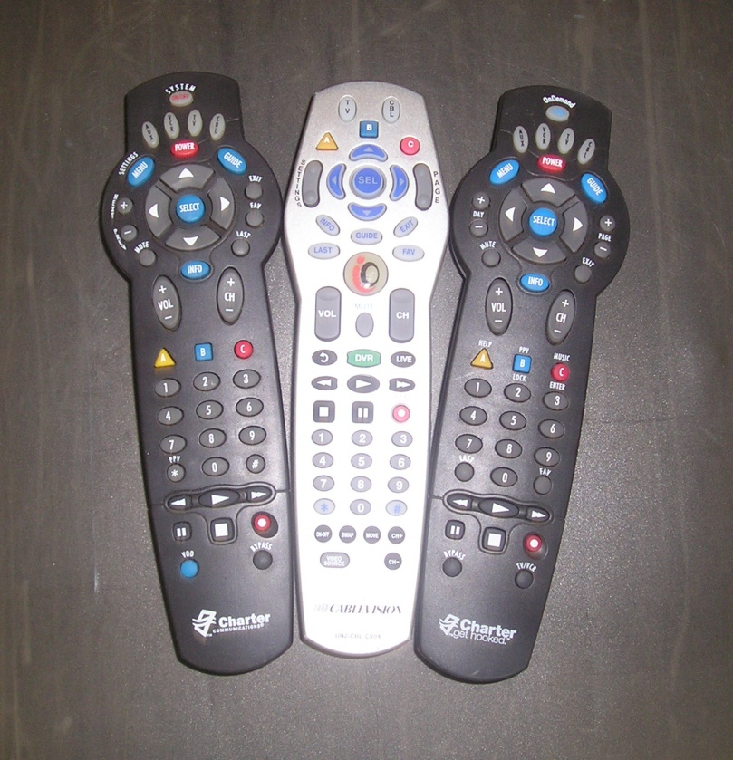 Charter Cable Remote Control manual