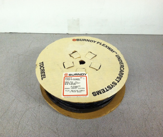 Burndy Tcm26 4 500reel 272527 Flexway Under Carpet System